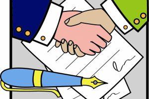Ký kết hợp đồng