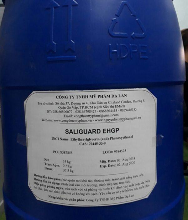 Bán chất bảo quản Saliguard EHGP – Bán nguyên liệu mỹ phẩm giá sỉ