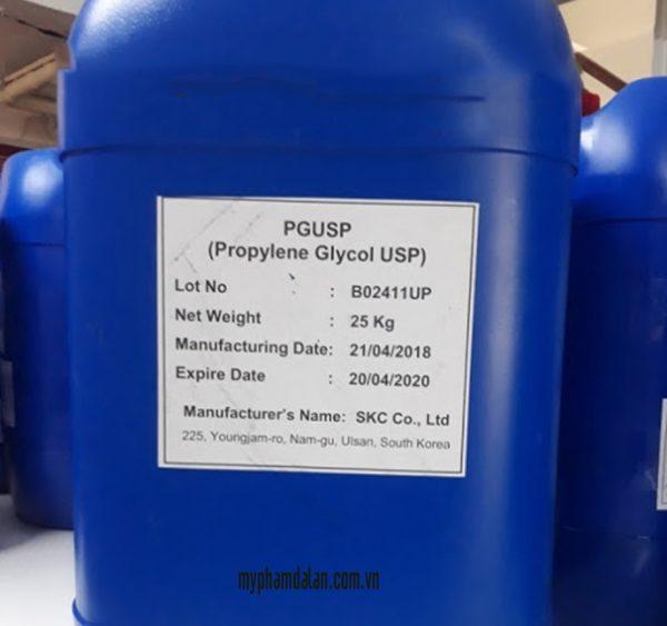 Bán hoạt chất propylene glycol – Bán nguyên liệu mỹ phẩm giá sỉ TPHCM