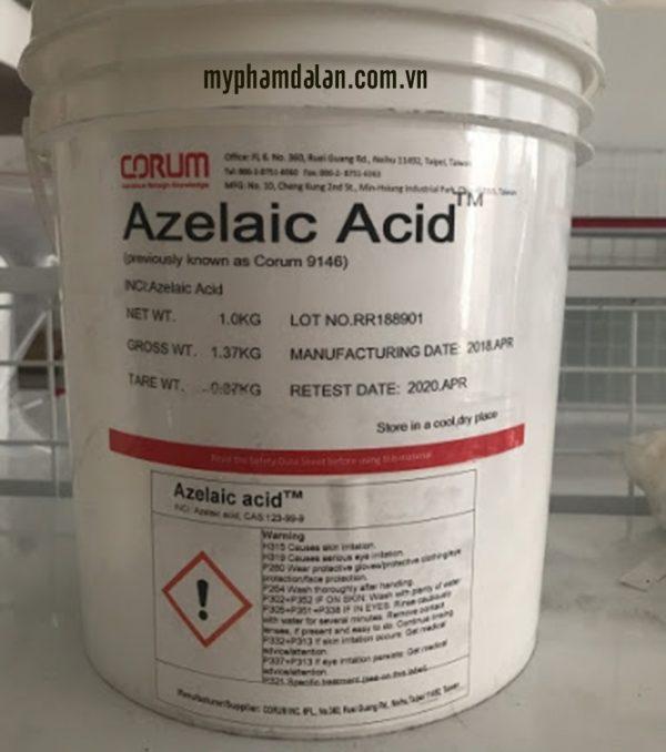Bán hoạt chất Axit Azelaic – Cung cấp nguyên liệu mỹ phẩm