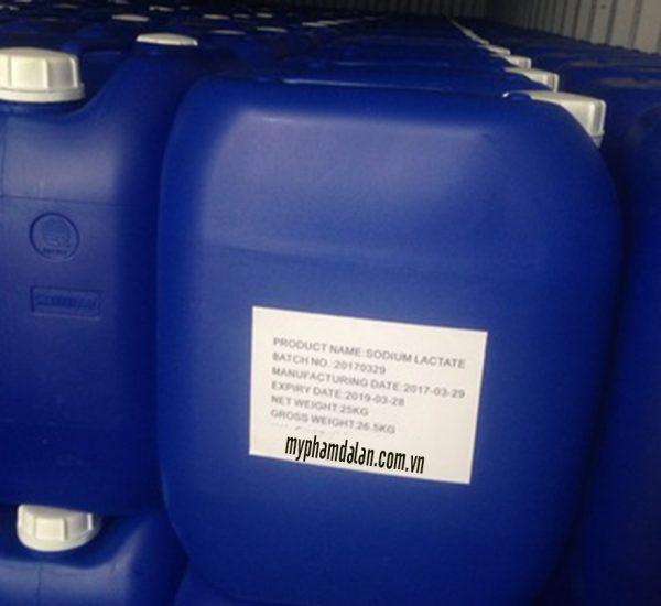 Bán Sodium Lactate – Bán nguyên liệu mỹ phẩm số lượng nhỏ/lớn