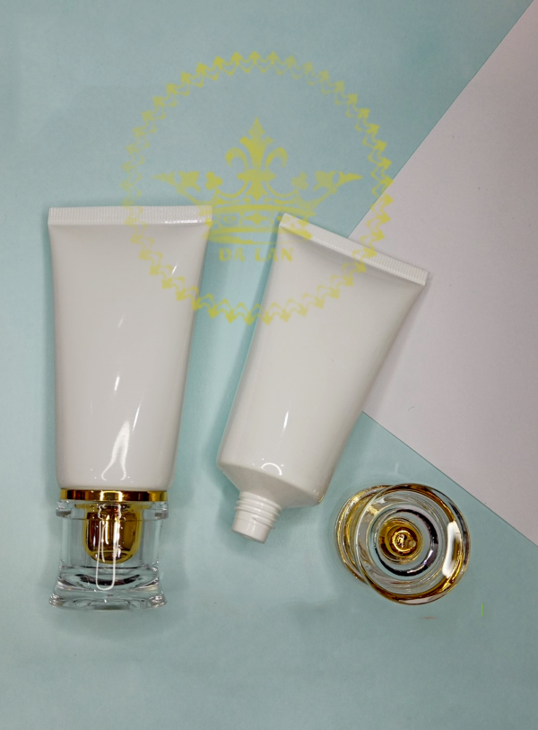 Tuýp nhựa trắng đựng mỹ phẩm – Cung cấp chai lọ hũ mỹ phẩm