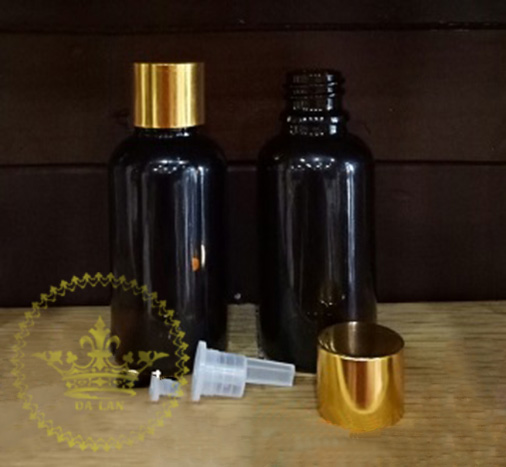 Bán chai thủy tinh nắp vàng đựng tinh dầu uy tín, chất lượng tại TPHCM