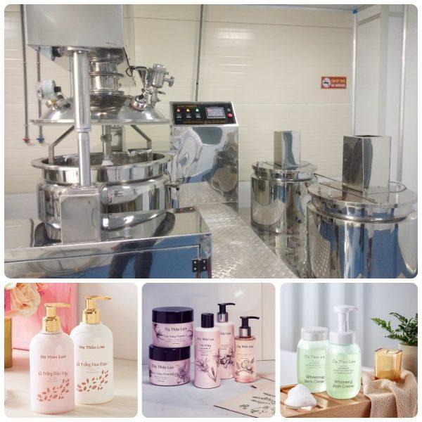 Gia công tắm trắng dâu tại TP. HCM – Gia công kem ủ trắng, kem tắm trắng, kem face, kem body