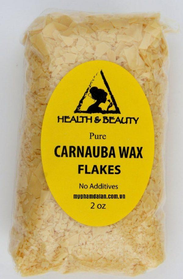 Bán sáp nhũ hóa Carnauba Wax – Cung cấp nguyên liệu mỹ phẩm giá sỉ