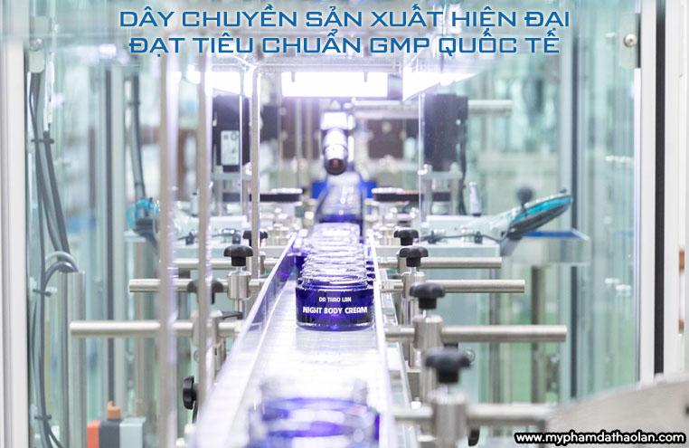 day chuyen san xuat my pham